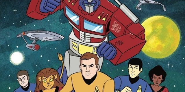 'Star Trek vs. Transformers' Crossover Announced