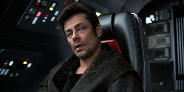 Star Wars DJ Benicio Del Toro