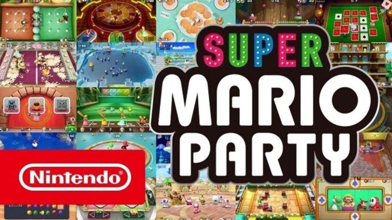 ¡Revelado Super Mario Party para Nintendo Switch!