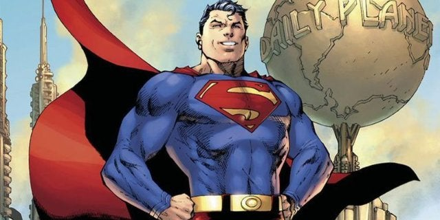 superman stand with refugees dc comics