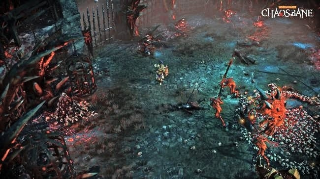 warhammer chaosbane offers a different rpg twist a first for the