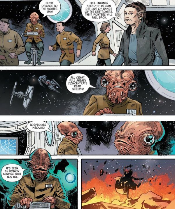 The Last Jedi #2 Ackbar