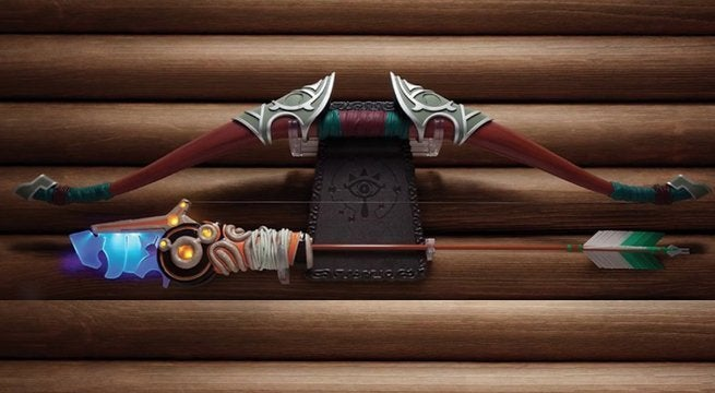 The Legend Of Zelda Breath Of The Wild Bow And Arrow