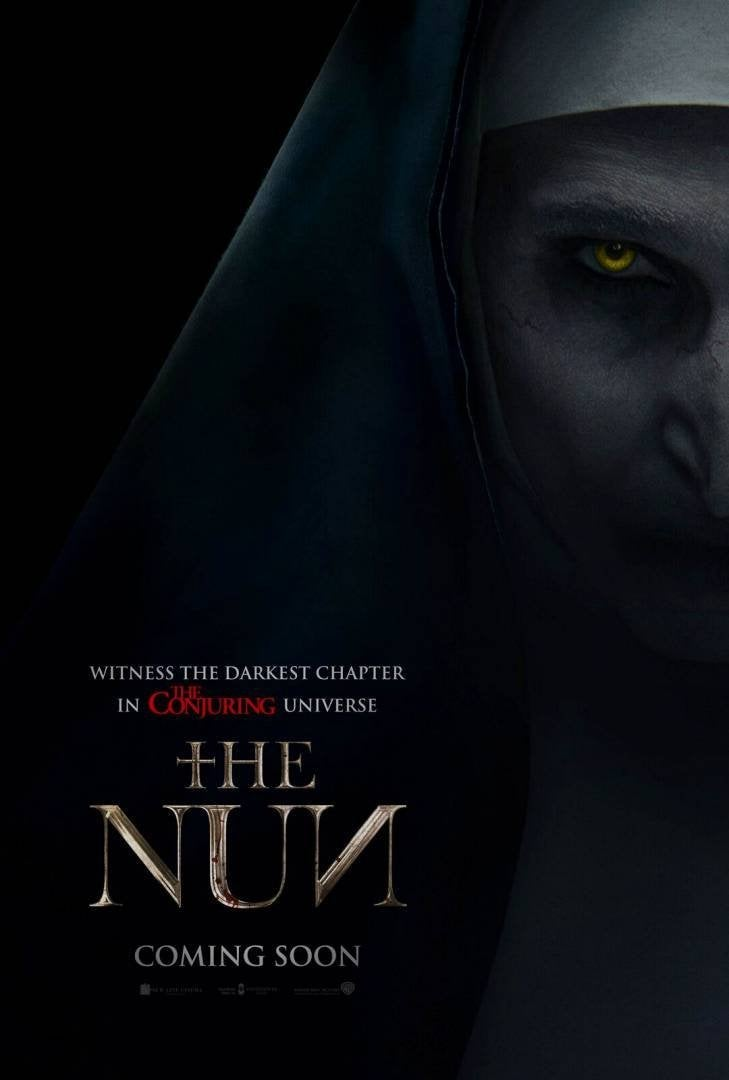 the nun movie poster 2018 conjuring