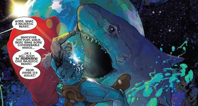 Thor #1 Review - Space Shark