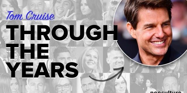 Tom Cruise - Through The Years screen capture