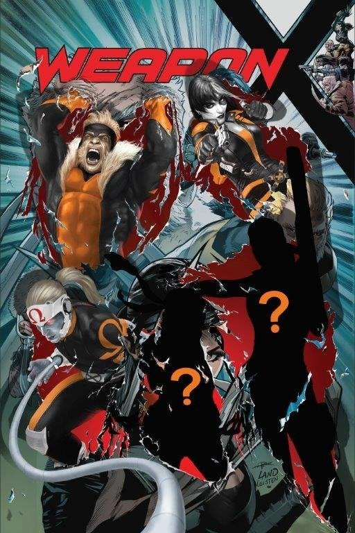 Weapon X #22 Omega Red