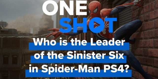 Who is the Leader of the Sinister Six in Spider-Man PS4 Game? screen capture