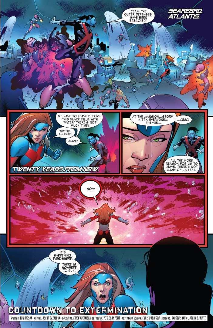 X-Men Red Extermination
