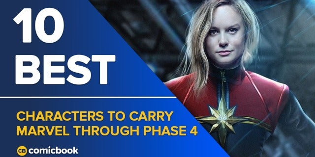 10 Best Characters to Carry Marvel Through Phase 4 screen capture