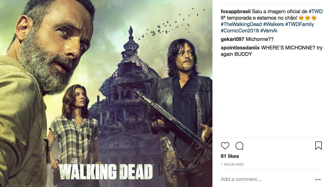 First The Walking Dead Season 9 Promo Image Features