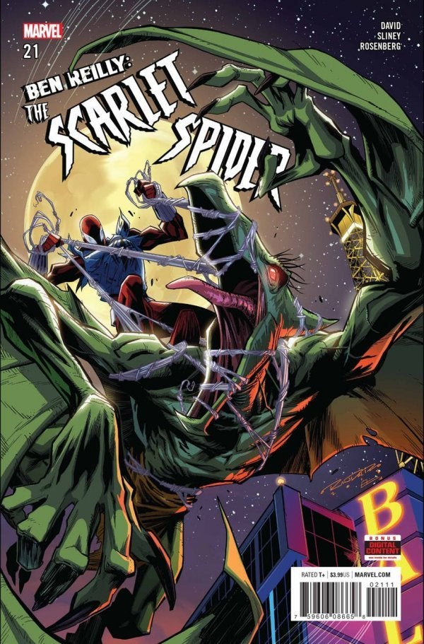 Ben Reilly: Scarlet Spider (2017) Issue 21