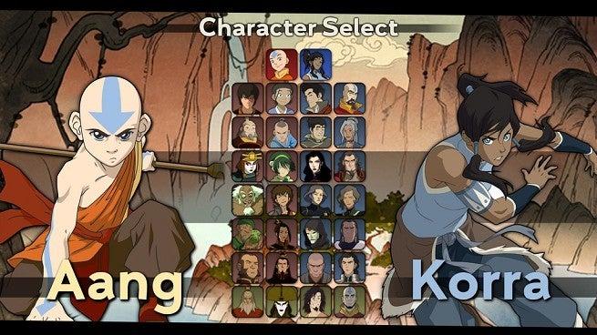 Avatar The Last Airbender Korra Fighting Game