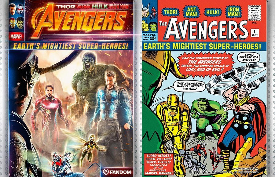 Avengers 1 MCU Version