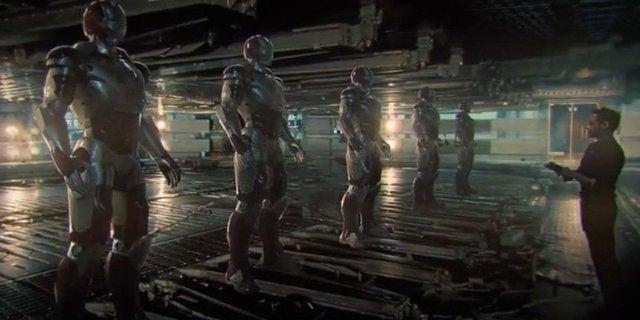 Avengers Infinity War 4 Concept Art Iron Legion