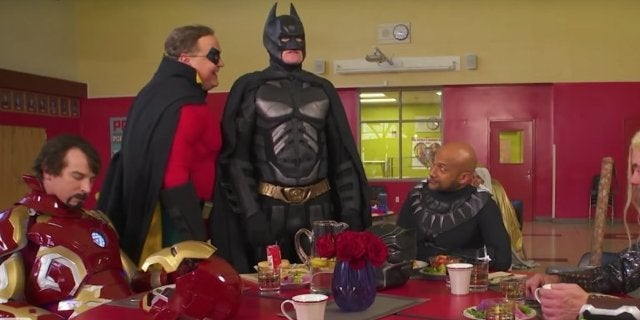 Batman Wants to Join the Marvel Universe in 'CONAN' Parody