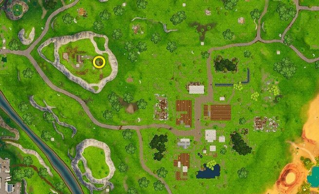 Fortnite Clay Pigeon Locations for the Season 5 Week 3 Challenge