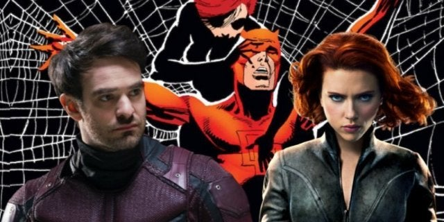Black Widow Daredevil MCU comicbookcom