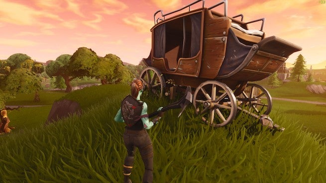 Fortnite: Real Life Loot Llamas Appear in Europe