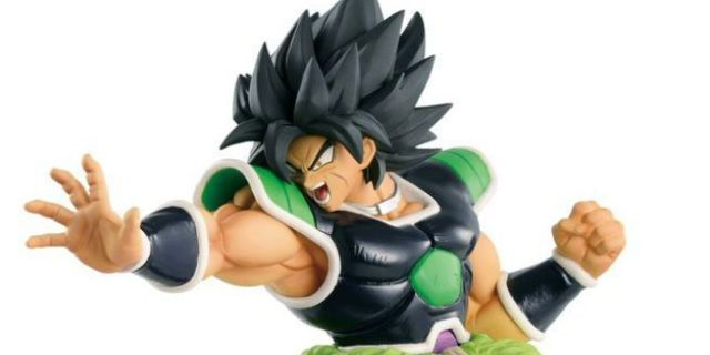 'Dragon Ball Super: Broly' Reveals First Collectible Figures