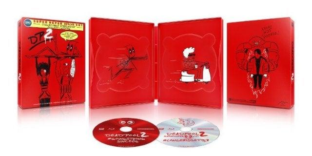 'Deadpool 2' Best Buy Blu-Ray Steelbook Exclusive Revealed