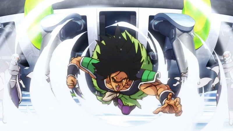 Dragon Ball Super Broly Movie Trailer - Broly Base Form Charge