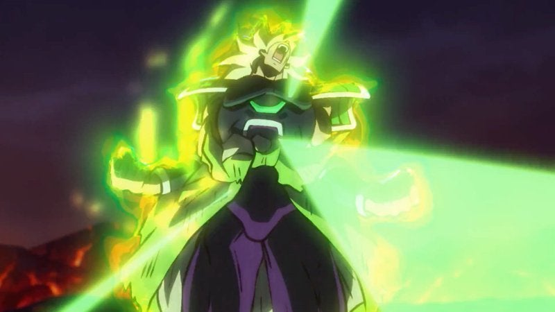 dragon ball super broly trailer reveals first look at