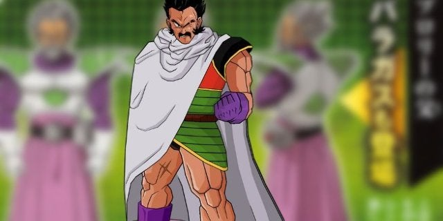 Dragon Ball Super Broly Paragus Designs
