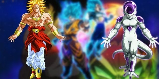 Dragon Ball Super Movie Broly Freeza Army Connections