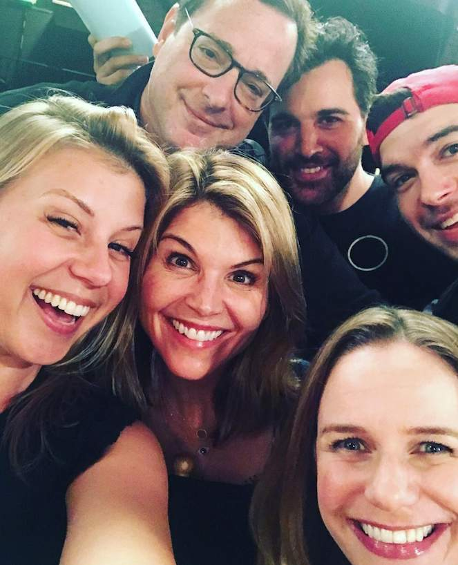 Fuller House' Star Lori Loughlin Shares Behind-the-Scenes Look at