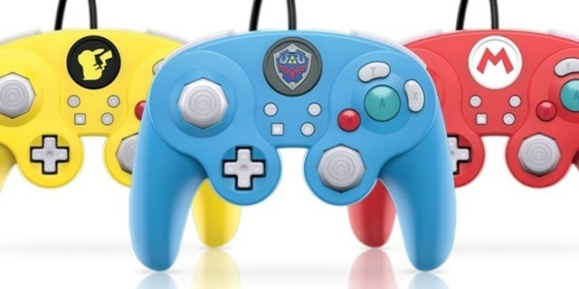 GameCube Nintendo Switch Controllers