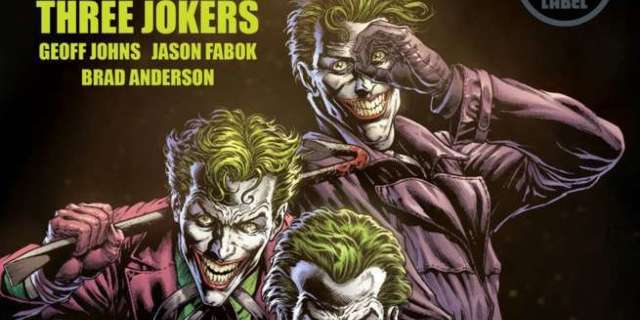Geoff Johns Three Jokers - Cover