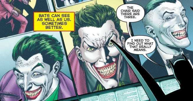 Geoff Johns Three Jokers - Theory