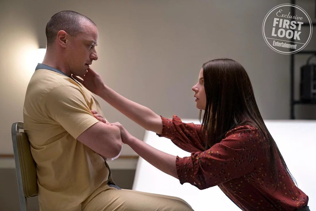 glass movie james mcavoy anya taylor joy
