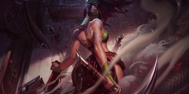League of Legends Akali