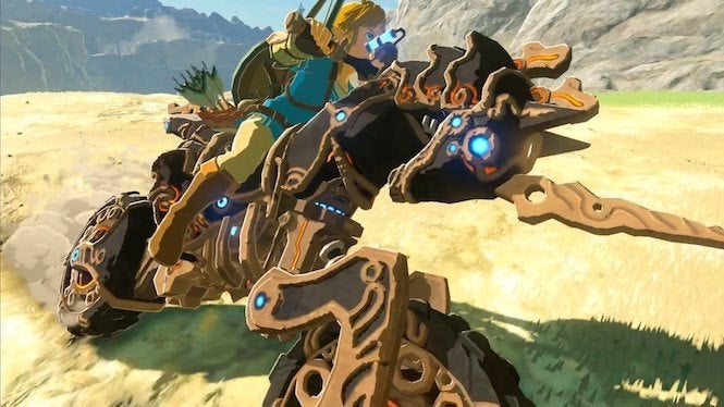 Mario Kart 8 Deluxe Adds Breath of the Wild Content