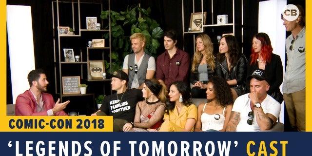 Legends of Tomorrow - SDCC 2018 Exclusive Interview screen capture