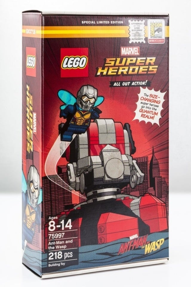 LEGO Ant-Man and the Wasp SDCC Exclusive
