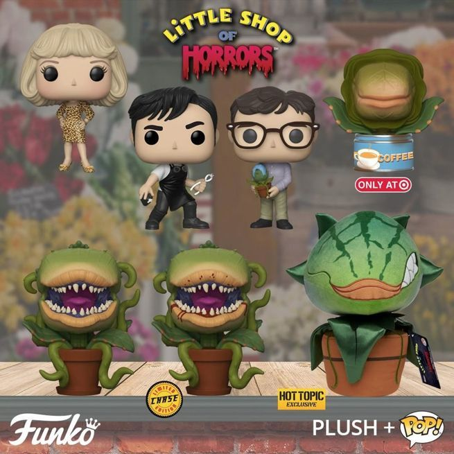 Funko Launches Little Shop Of Horrors Pop Figures And Plush