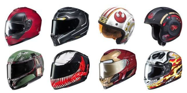 marvel-and-star-wars-motorcycle-helmets
