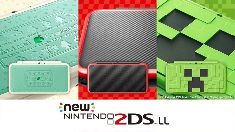 I'm into this Creeper-inspired New Nintendo 2DS XL