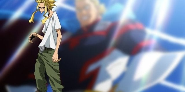 My Hero Academia Movie Two Heroes - Young All Might