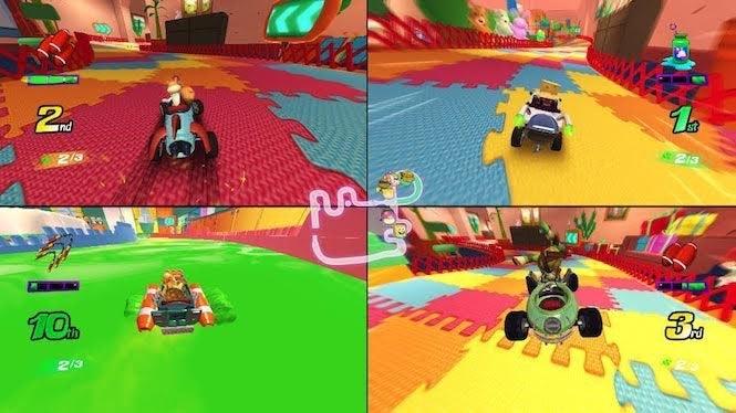 Nickelodeon Kart Racers Announced Features Ninja Turtles