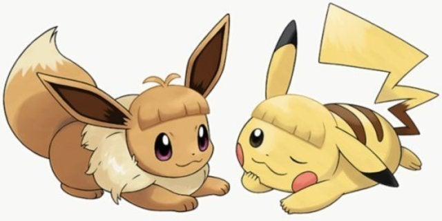 Hair Style Eevee: Pokemon Fans Are Losing It Over Pikachu And Eevee's New