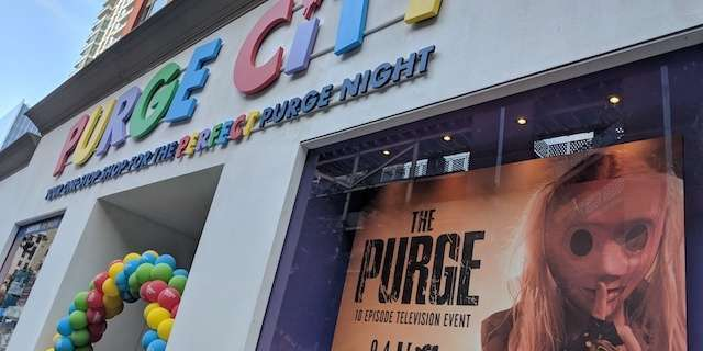 Gear Up For USA's 'The Purge' at SDCC's Purge City