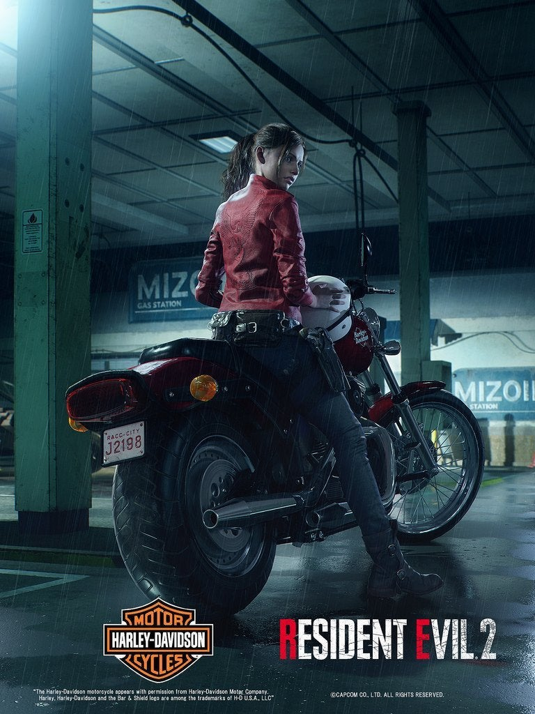 Resident Evil 2 Remake: Claire Redfield's New Design Revealed