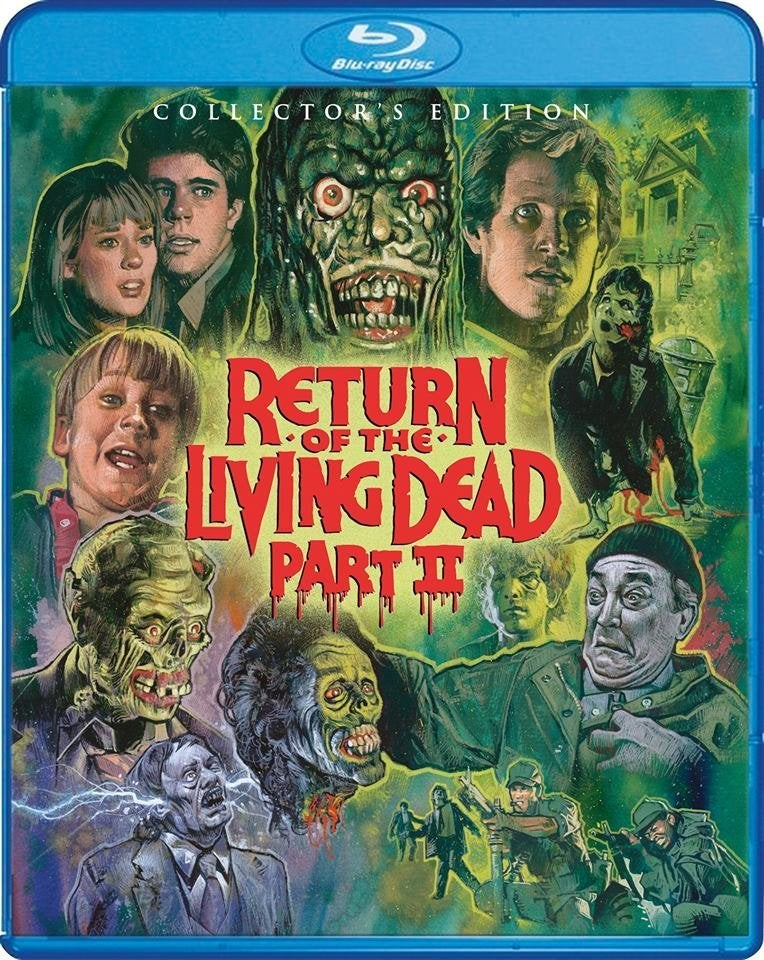 return of the living dead part ii blu ray
