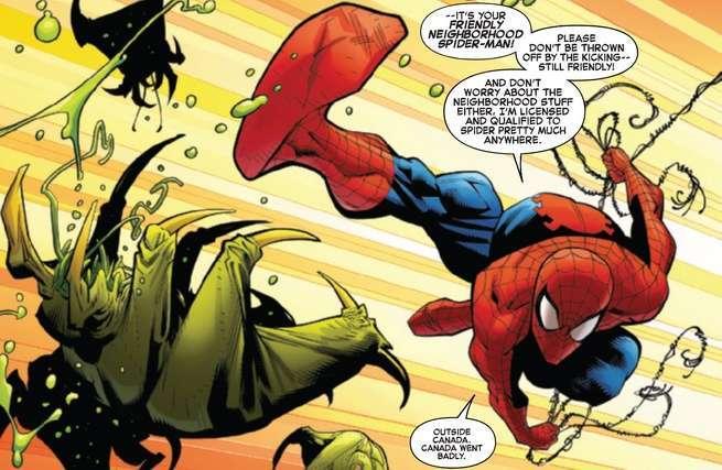 Review Amazing Spider-Man #1 - Aliens
