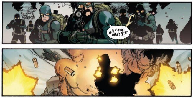 Review Captain America #1 - Hydra