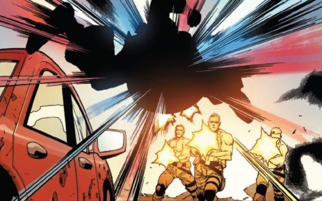 Review Captain America #1 - Nuke